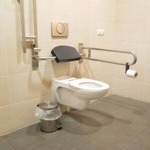 barrierefreie WC